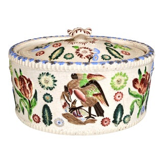 English Pottery Game Tureen, 19th Century For Sale
