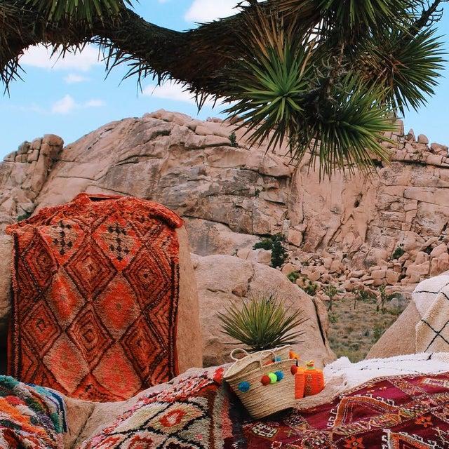 Vintage Moroccan Beni MGuild Rug - 7' x 11' - Image 7 of 8