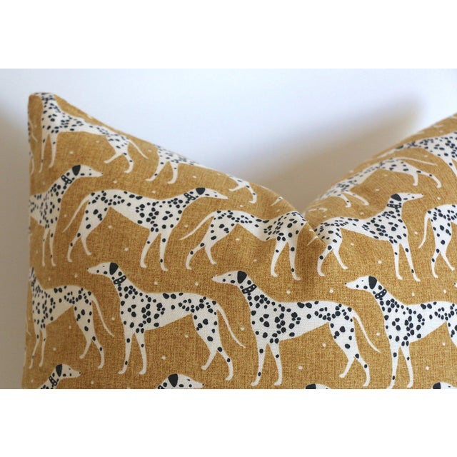 Offered is one Mid Century Modern Dalmatian pillow cover, handmade with designer cotton printed fabric. Colors are Black,...