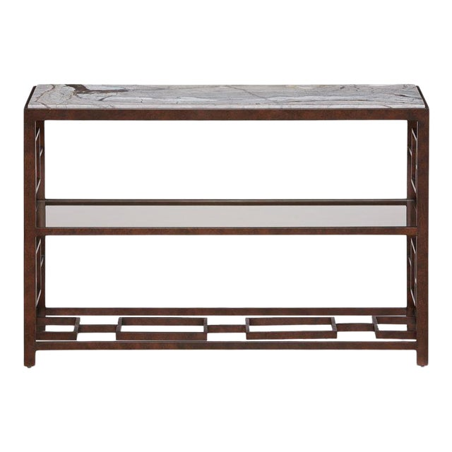 Marcos Console Table from Kenneth Ludwig Chicago For Sale