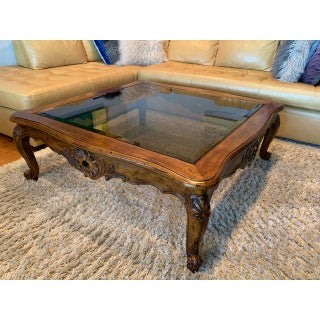 20th Century French Country Henredon Villandry Collection Louis XVII Coffee Table Preview
