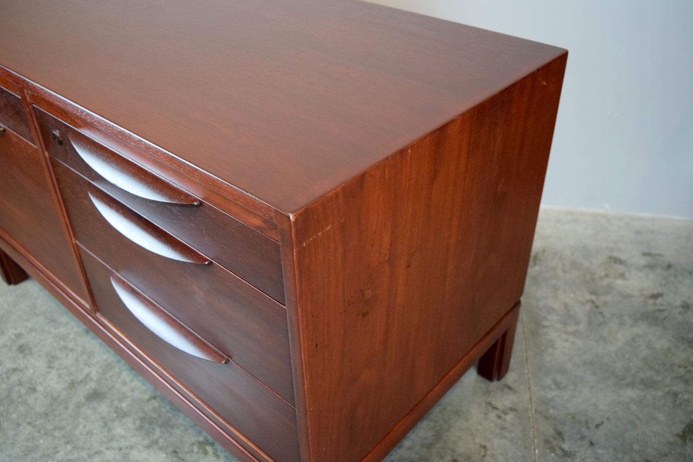 Walnut Jens Risom for Risom Design Inc. Walnut Credenza File Cabinet For Sale - Image  sc 1 st  Chairish & Jens Risom for Risom Design Inc. Walnut Credenza File Cabinet | Chairish
