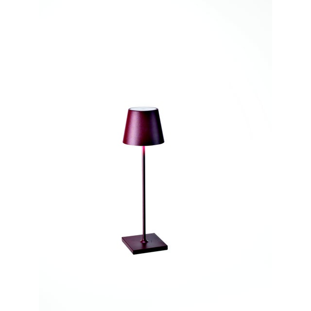 Modern Zafferano Bordeaux Rechargeable Indoor/Outdoor Cordless Table Lamp For Sale - Image 3 of 3