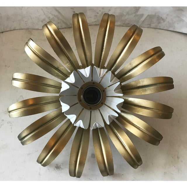 Banci 1960s Flush Mount or Sconce by Banci Firenze For Sale - Image 4 of 4