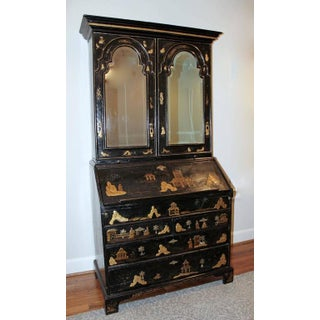 Early 18th Century English Queen Anne Chinoiserie Secretary Preview