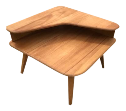 Heywood Wakefield Mid Century Modern End Table   Image 1 Of 10