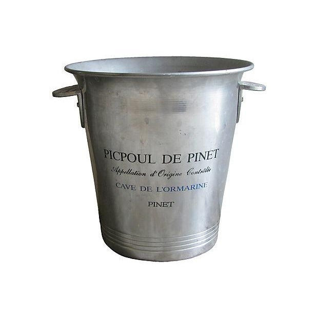 Vintage French Bistro Champagne Bucket - Image 2 of 4