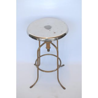 1940's American Steel Adjustable Height Stool Preview