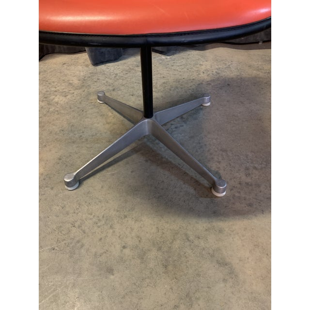 Red 1970s Eames Chair for Herman Miller For Sale - Image 8 of 11