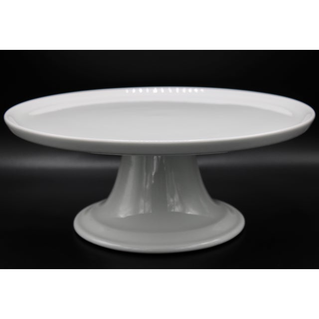 Pillivuyt et Cie Mid Century Pillivuyt French Cake Stand For Sale - Image 4 of 11