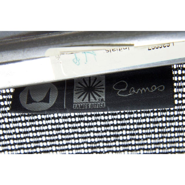 Charles and Ray Eames for Herman Miller Aluminum Group Lounge Chair For Sale - Image 12 of 13