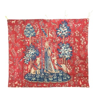 Tapisserie d'Halluin - Middle Ages French Needlepoint Tapestry For Sale