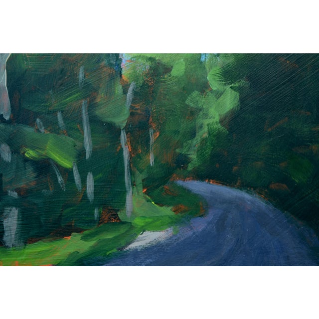 """2010s Stephen Remick """"Gravel Road in Vermont"""" Contemporary 2010s Landscape Painting For Sale - Image 5 of 11"""