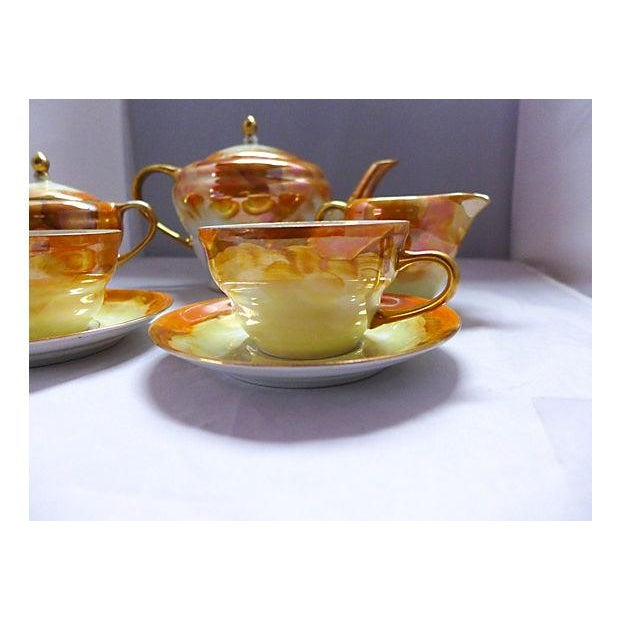 Lusterware Tea for Two Set - Image 6 of 8