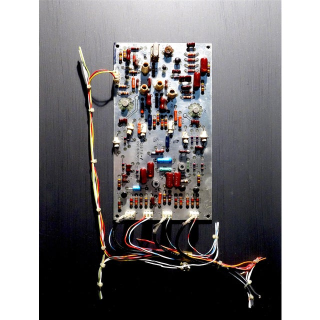 Mid Century Component Art Vintage Circuitry Wall Sculpture / Collage. Bill Reiter For Sale In Dallas - Image 6 of 13