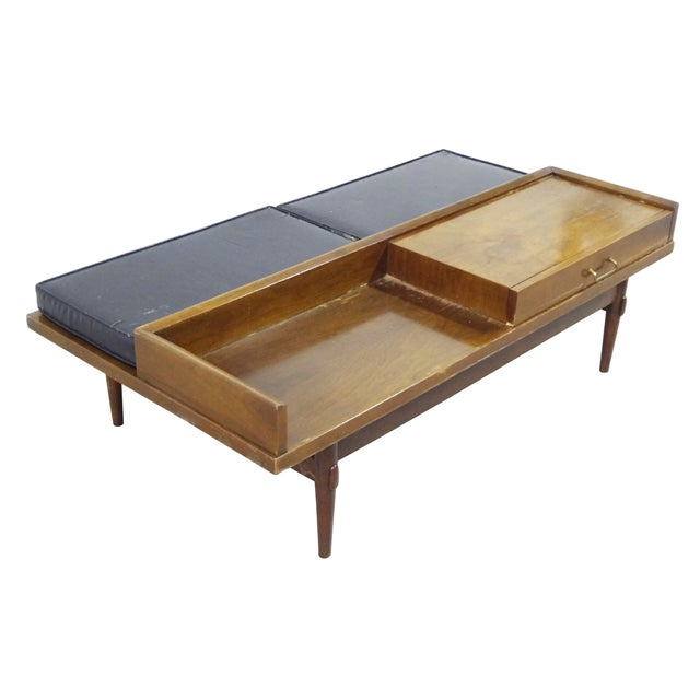 American of Martinsville Coffee Table Bench - Image 7 of 10