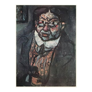 """1950s Georges Rouault """"Mr. X"""", First Edition Period Expressionist Lithograph For Sale"""