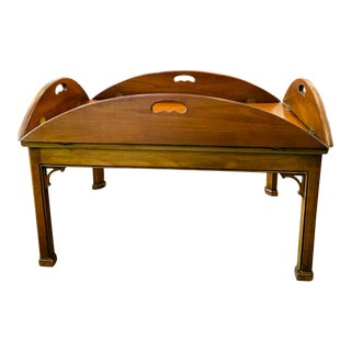 Chippendale Drexel Heritage Butlers Table For Sale