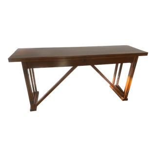 French Country Sarreid Architect Table For Sale