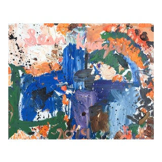 Abstract Oil Painting by Sean Kratzert, 'World's Fair' For Sale