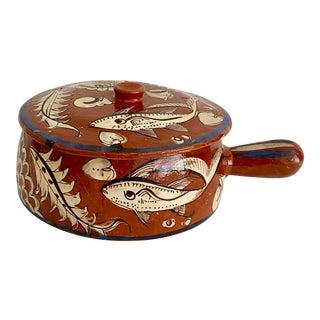 Midcentury Mexican Tlaquepaque Fish Pot For Sale