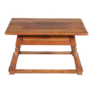19th-C. Austrian Work Bench Table For Sale