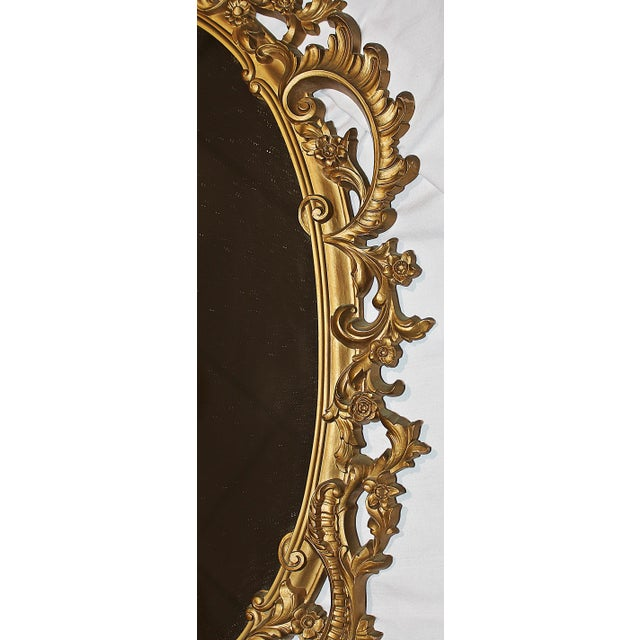 Vintage Rococo-Style Mirror - Image 6 of 6