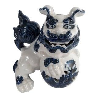 Mid 20th Century Ceramic Japanese Shishi or Foo Dog For Sale