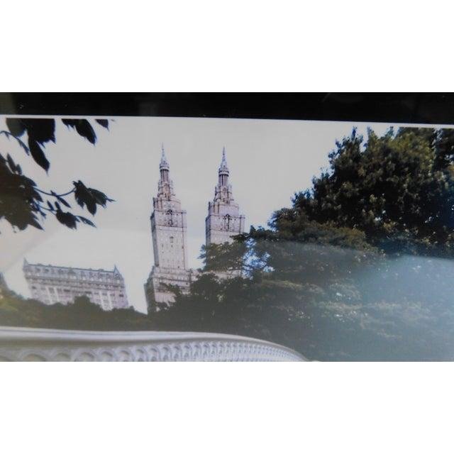 Modern Central Park Bridge Black and White Print For Sale - Image 3 of 13
