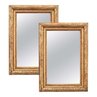 French 19th Century Giltwood Mirrors - a Pair For Sale