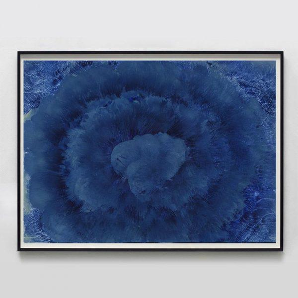 """Abstract Molly Frances """"Cumulus No. 5"""" Unframed Print For Sale - Image 3 of 3"""