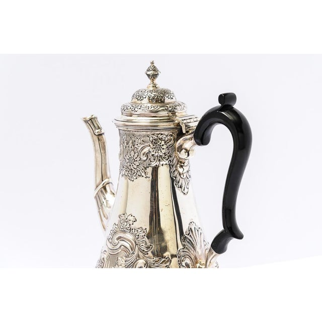 Late 19th Century Antique English Sheffield Coffee Pot For Sale - Image 5 of 9