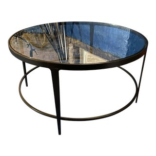Mid-Century Modern Charleston Forge Cocktail Table For Sale