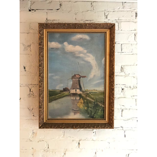 Antique Continental Impressionist Oil Painting For Sale - Image 13 of 13