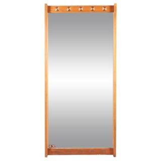1960s Swedish Hovmantorp Teak Mirror For Sale