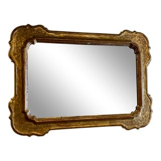 19th Century Antique French Gilt Mirror For Sale