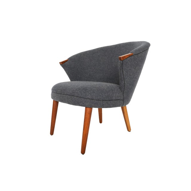 Bent Møller Jepsen Wool Lounge Chair - Image 6 of 8