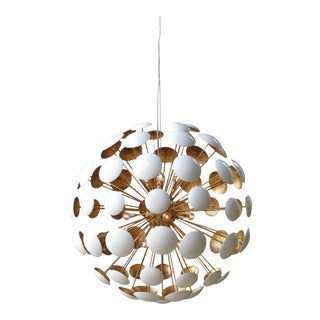 Mid-Century Modern Sputnik Style Bilbao Pendant Light by Solaria Lighting For Sale