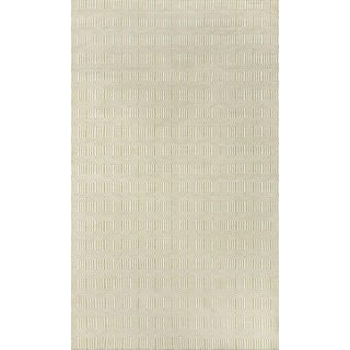 "Erin Gates Newton Holden Green Hand Woven Recycled Plastic Area Rug 3'6"" X 5'6"" For Sale"