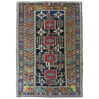 Antique 19th Century Caucasian Karaghashli Rug For Sale