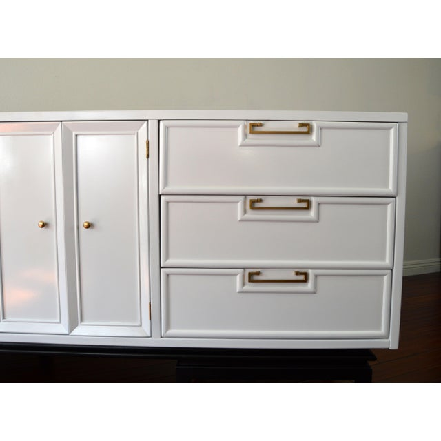 American of Martinsville Mid-Century White Dresser - Image 3 of 10