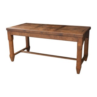French 19th Century Provincial Oak Refectory Table For Sale