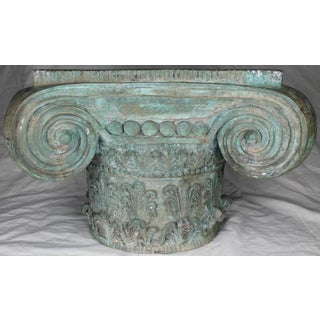 Patinated Bronze Ionic Capital Table Base Preview