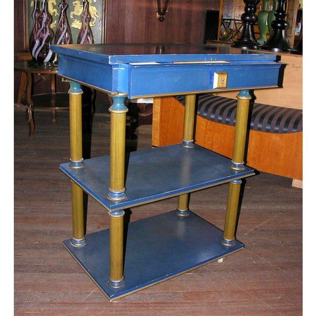 1960s Vintage James Mont Stand Table For Sale - Image 14 of 15