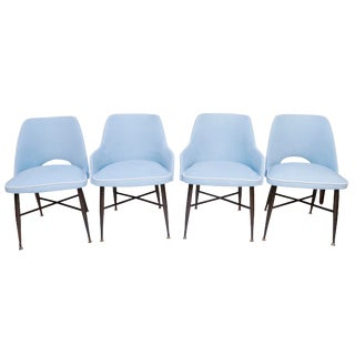 Mid-Century Dining Chairs Viko Baumritter Co.- Set of 4 For Sale
