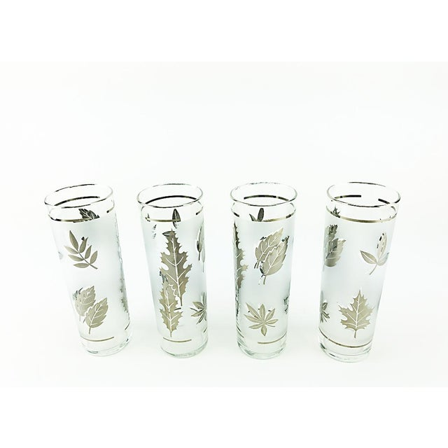 Libbey Silver Leaves High Balls - Set of 4 - Image 3 of 4
