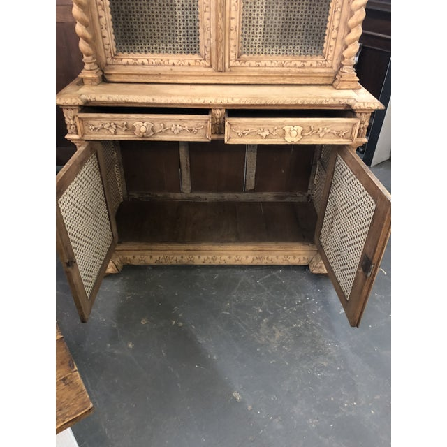 19th Century French Louis XIII Bibliotheque For Sale - Image 4 of 6