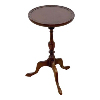 English Wine Mahogany Table For Sale