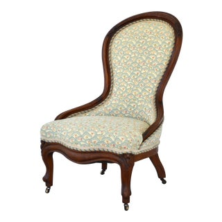 19th Century Spoonback Side Chair For Sale