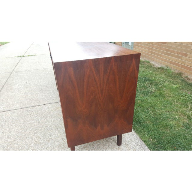 Milo Baughman for Arch Gordon Walnut Cabinets - A Pair - Image 6 of 11